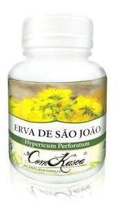 Erva De São João - 2 potes com 60 cápsulas