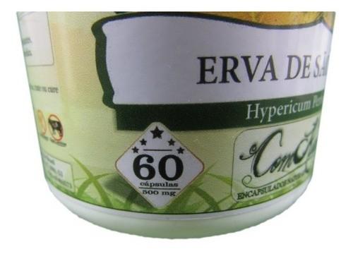 Erva São João 60 Cáps 500 Mg