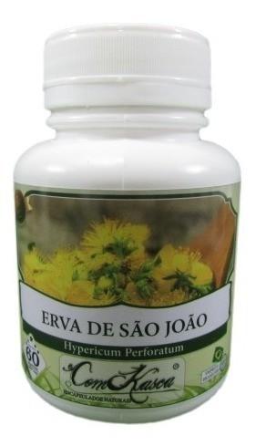 Erva São João 60 Cáps 500 Mg (pura)