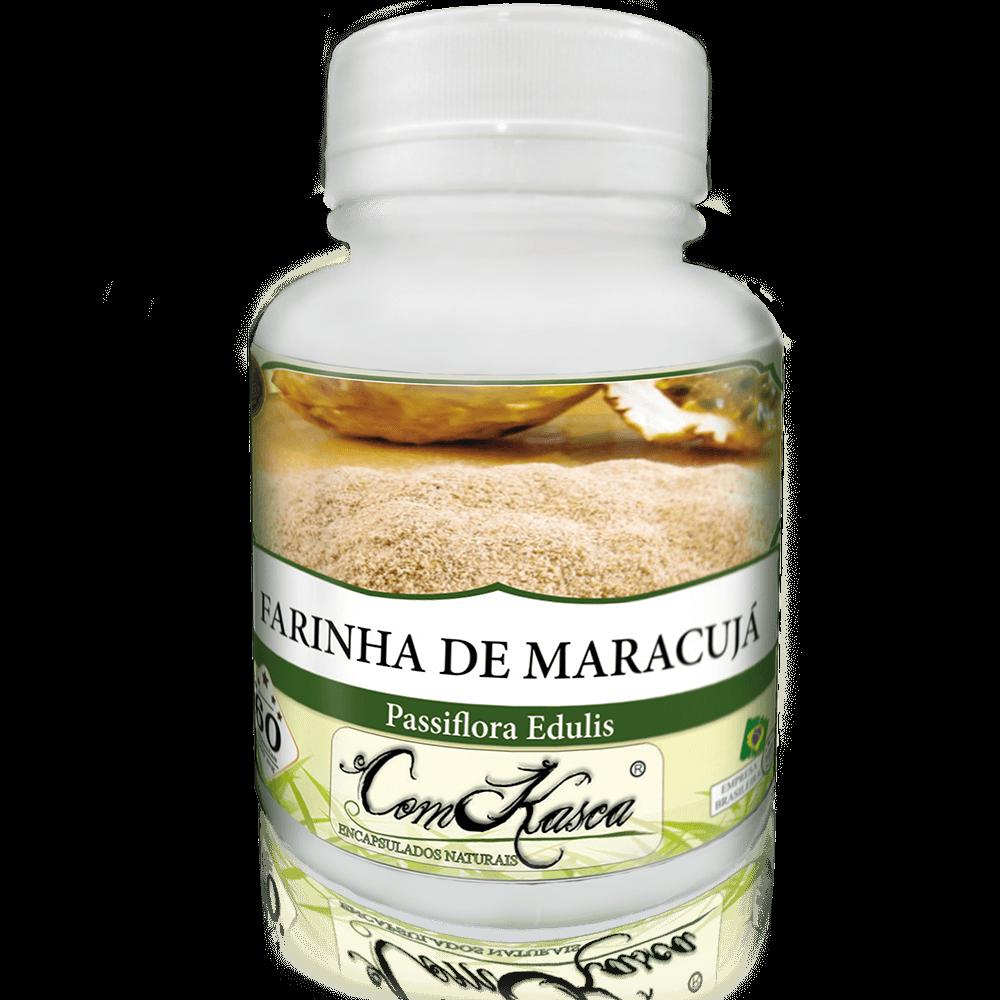 Farinha De Maracujá ComKasca 60 caps