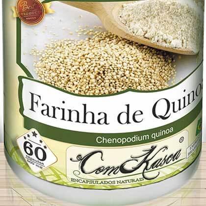 Farinha de Quinoa ComKasca 60 caps