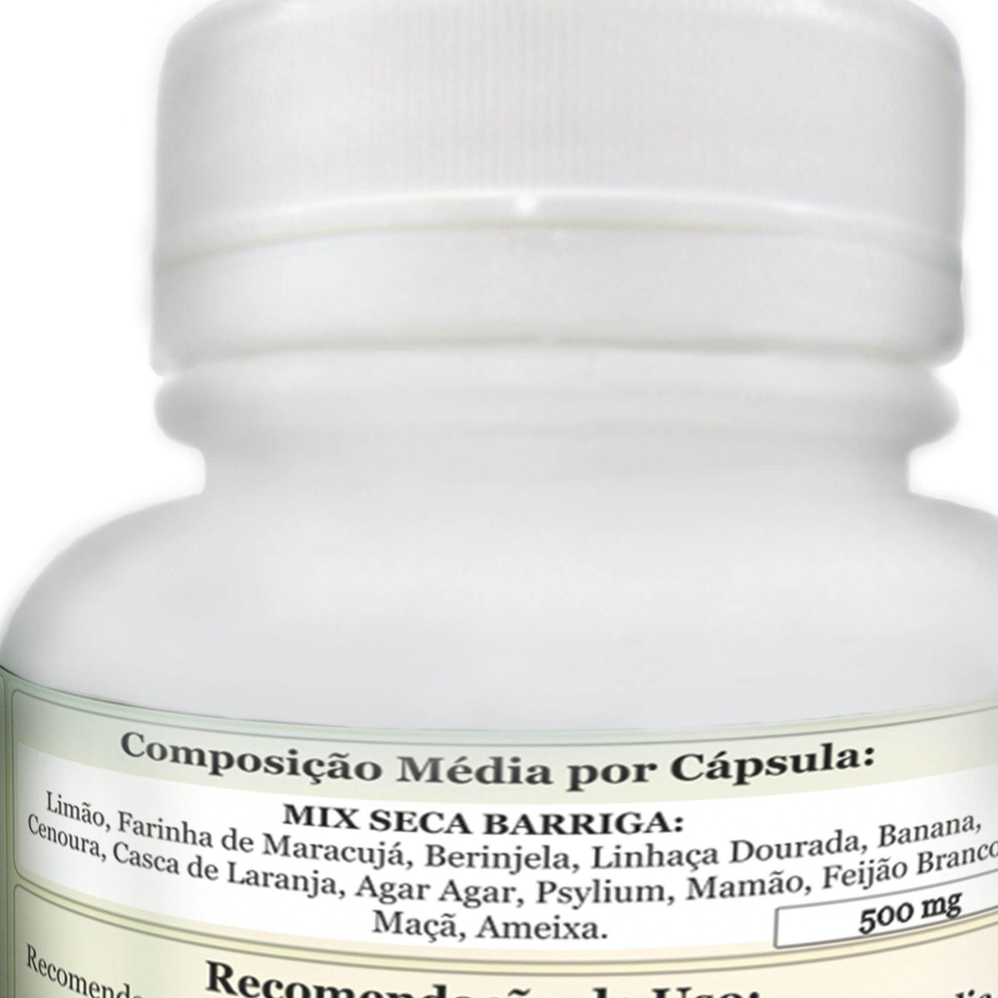 Farinha Seca Barriga ComKasca 120 caps