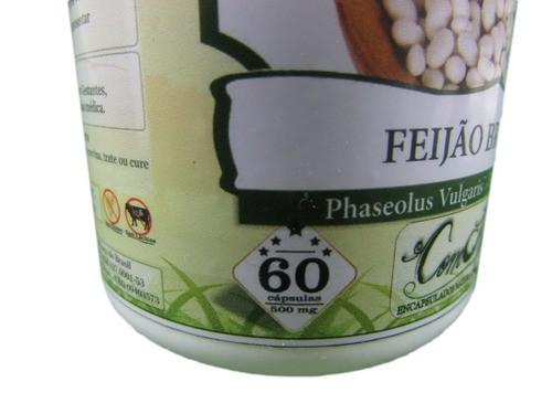 Feijão Branco 60 Cápsulas 500 Mg