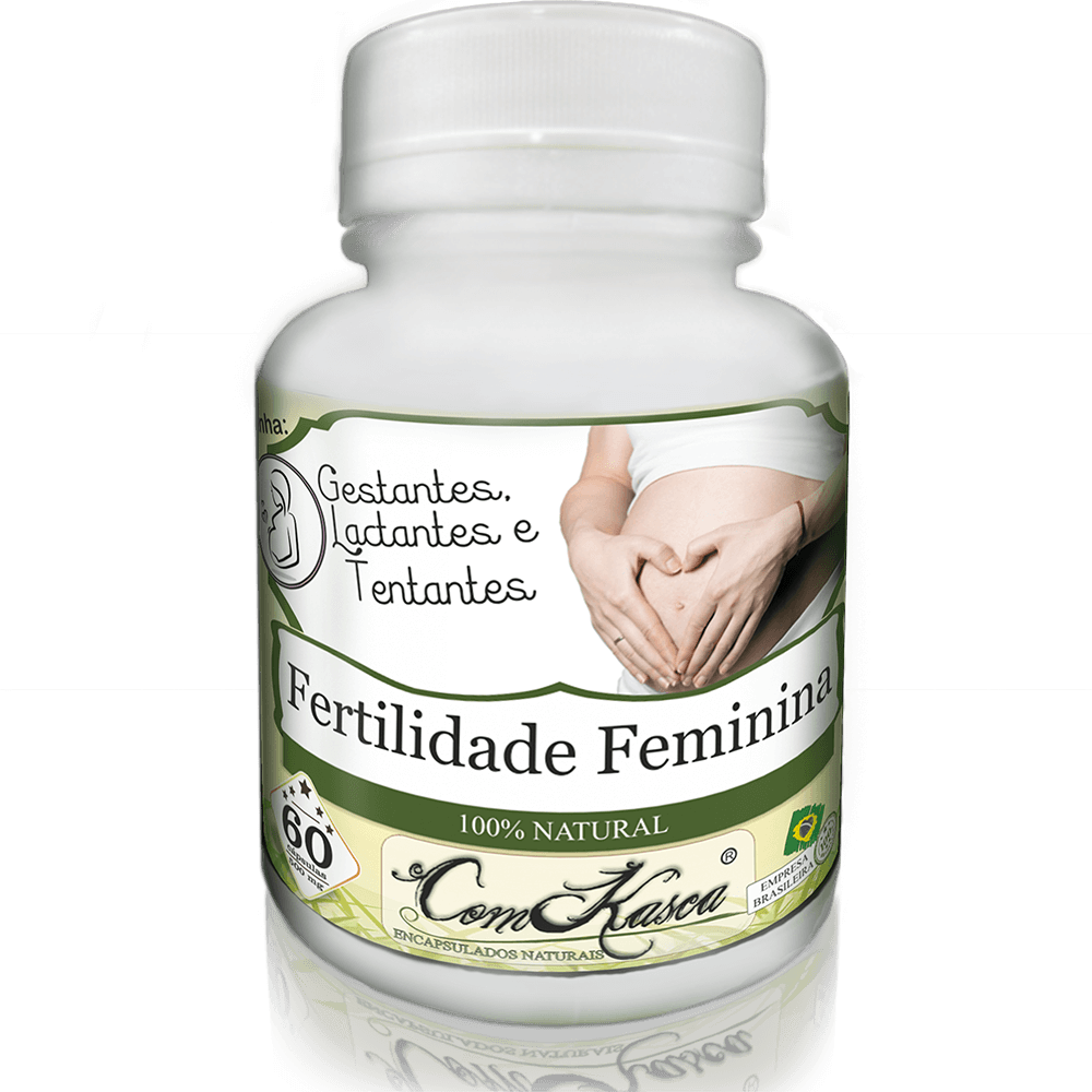 Fertilidade Feminina ComKasca 60 caps
