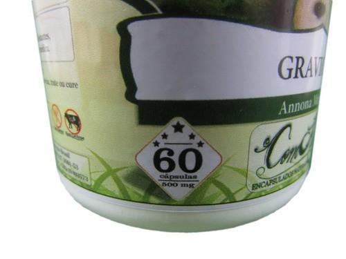 Graviola 60 Cápsulas 500mg
