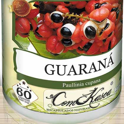 Guaraná ComKasca 60 caps