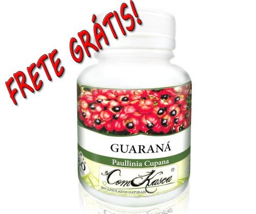 Guaraná (puro) 60 Cáps