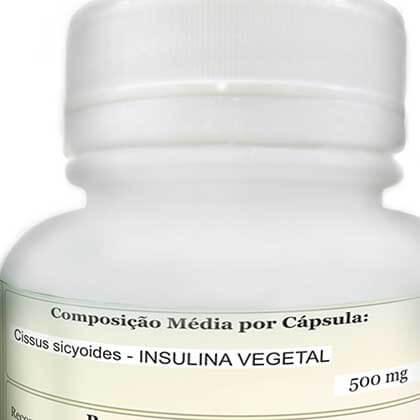 Insulina Natural 60 capsulas - Marca: ComKasca