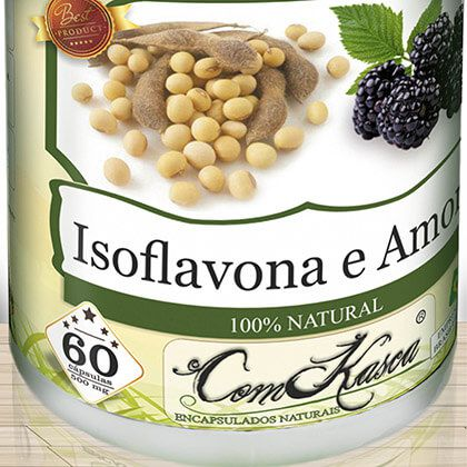 Isoflavona e Amora 60 caps