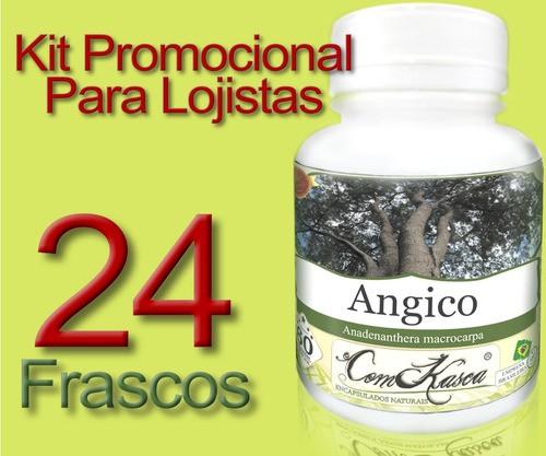 Kit 24 Angico 60 Cáps ( Pura)