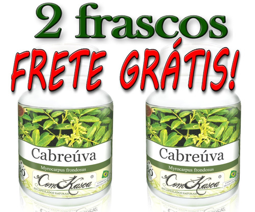 Cabreúva - 2 potes com 60 cápsulas
