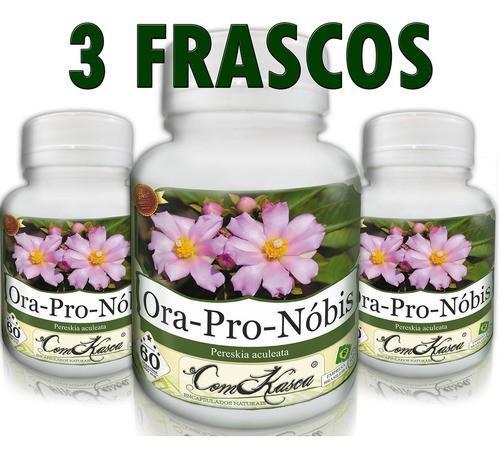 Kit 3 Potes De Ora Pro Nobis (revigorantes,regenerativas)
