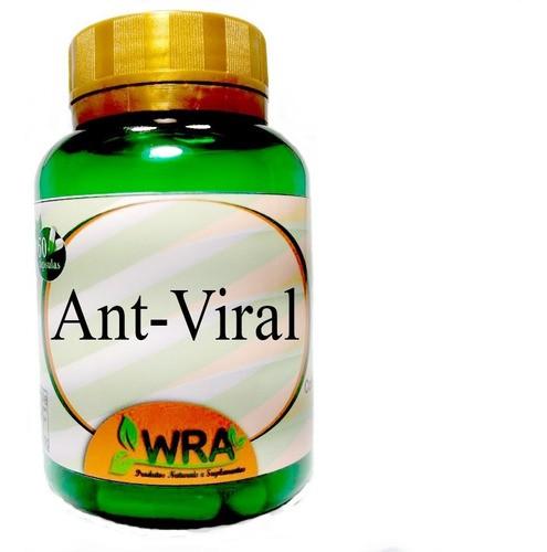 Kit 4 Potes De Composto Antiviral Em Capsulas