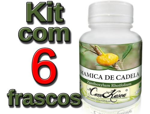 Mamica de Cadela - 6 potes de 60 cápsulas