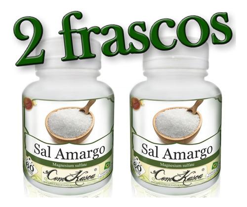 Sal Amargo - 2 potes de 60 cápsulas