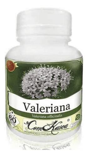 Valeriana - 3 potes com 60 cápsulas