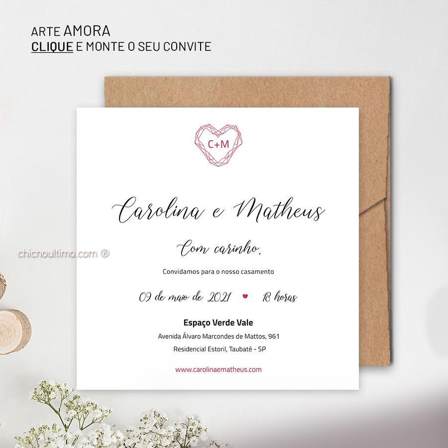 Amora - Convite Base