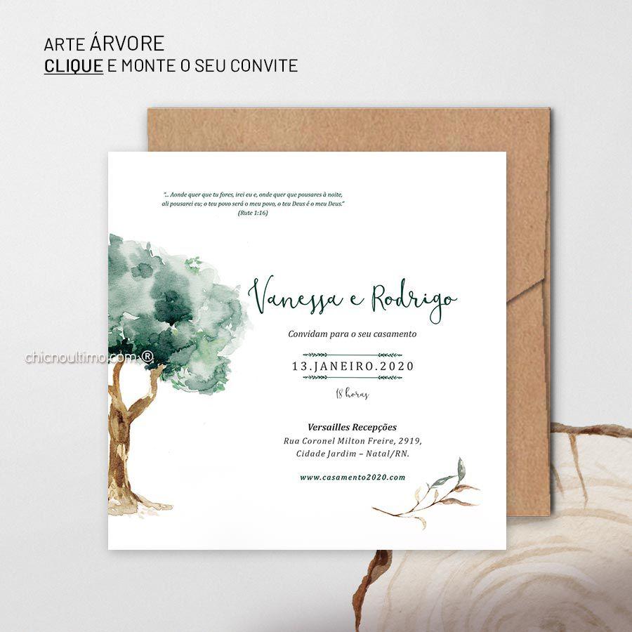 Árvore - Convite Base