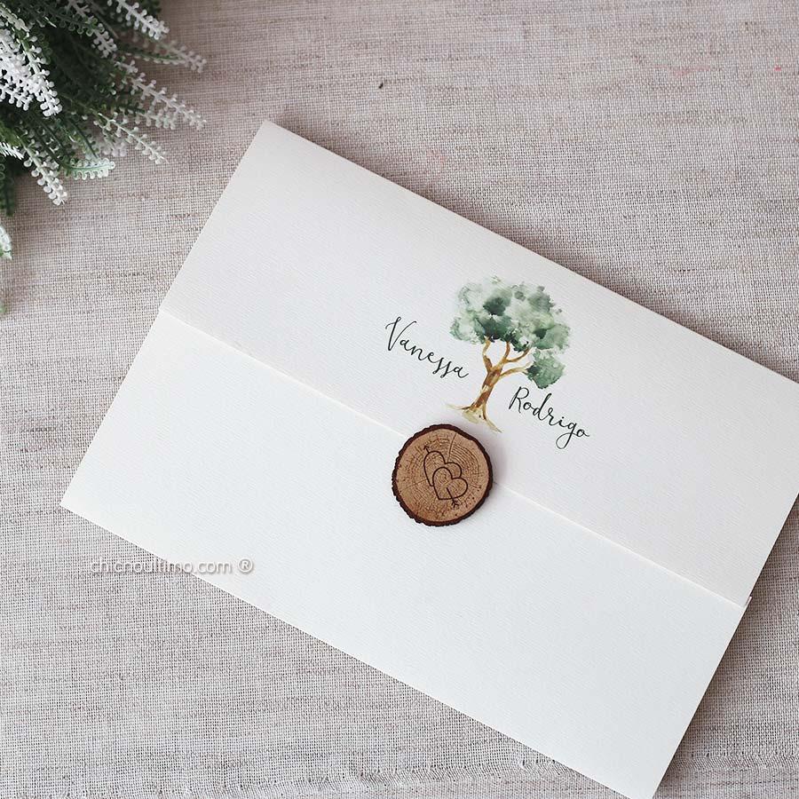 Árvore - Convite Completo
