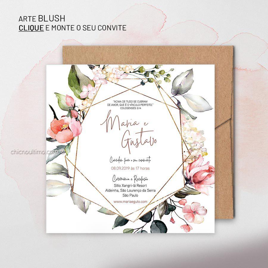 Blush - Convite Base