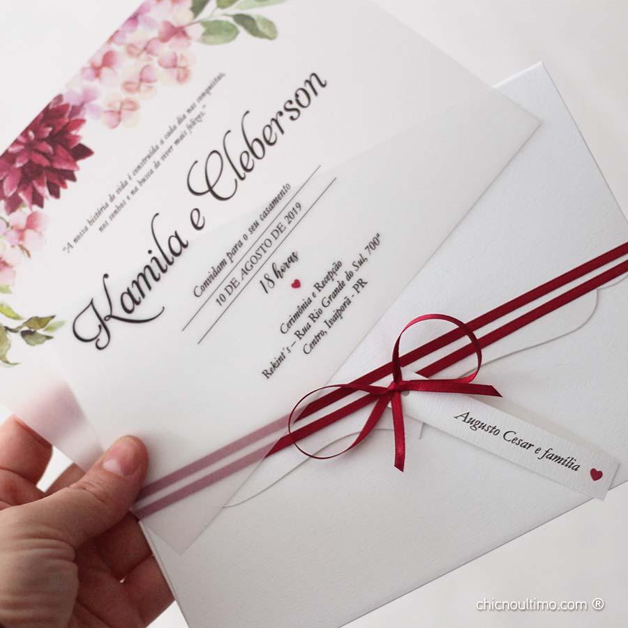 Borgonia - Convite Completo