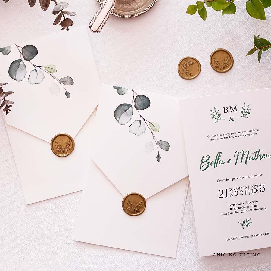 Bosque - Convite Pronto