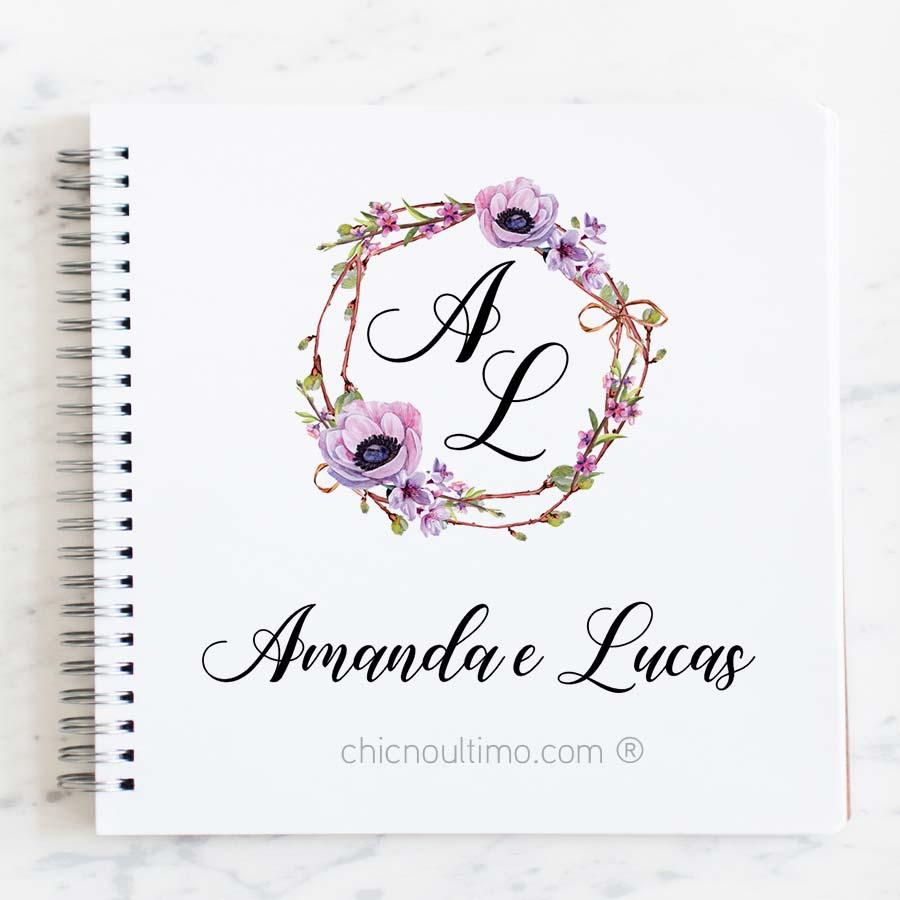 Brasão Boho Lilac - arte virtual