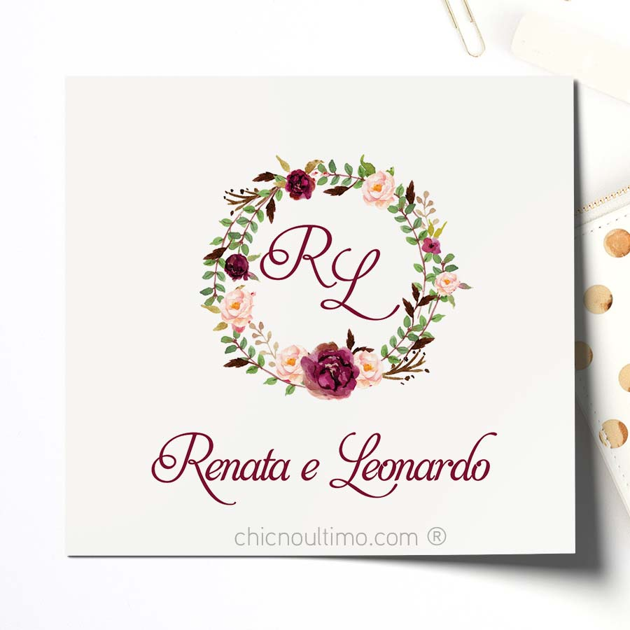 Brasão Romance Marsala - arte virtual
