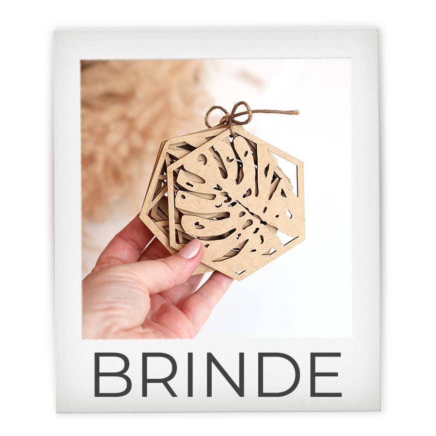 Brinde Kit com 6 Porta Copos - Criativo