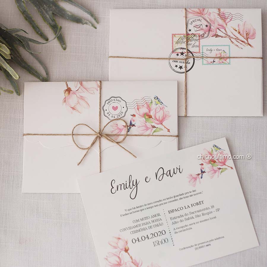 Carta Lovely - Convite Completo