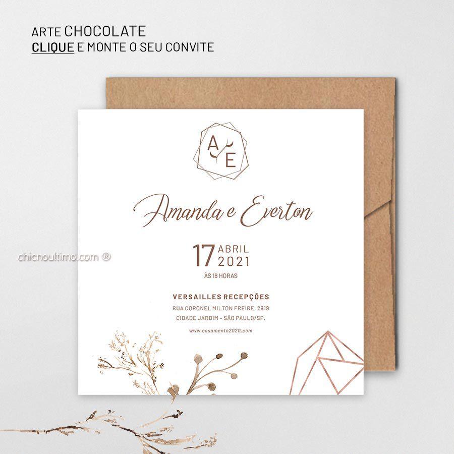 Chocolate - Convite Base