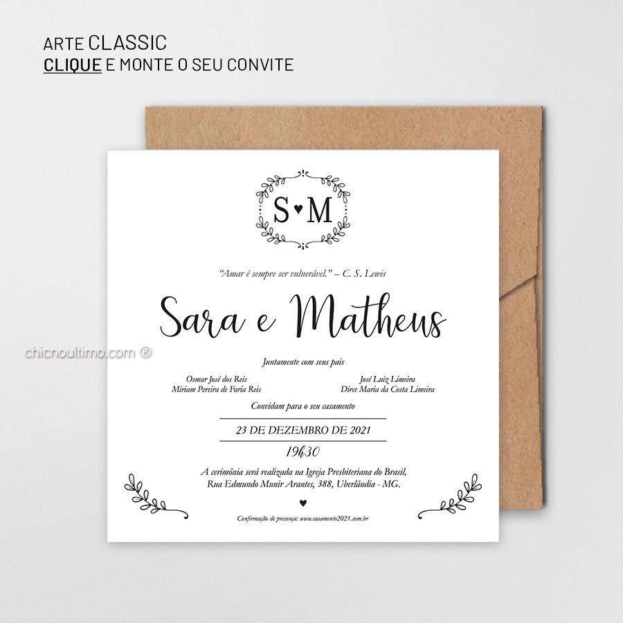 Classic - Convite Base