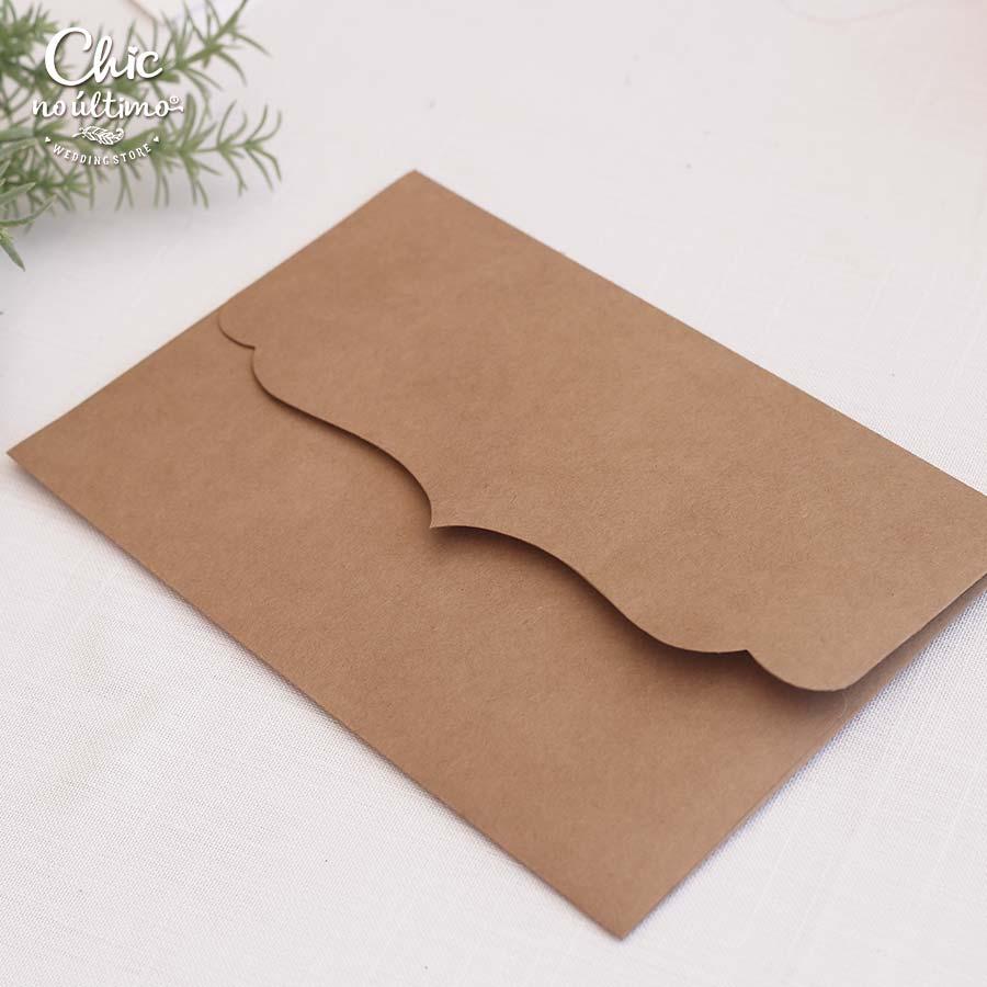 Envelope Kraft - Vintage M 24x16cm