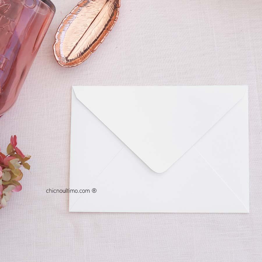 Envelope Branco - Carta M 22x15,5cm