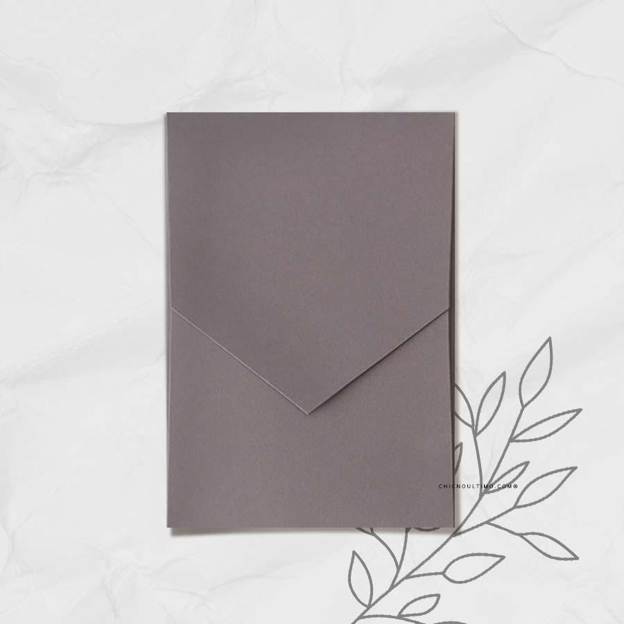 Envelope Chumbo 240g - Geométrico P 13x20cm