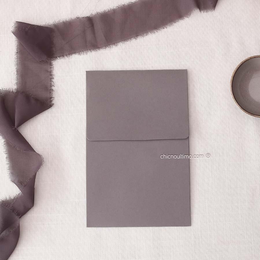 Envelope Chumbo - Vertical P 13x20cm