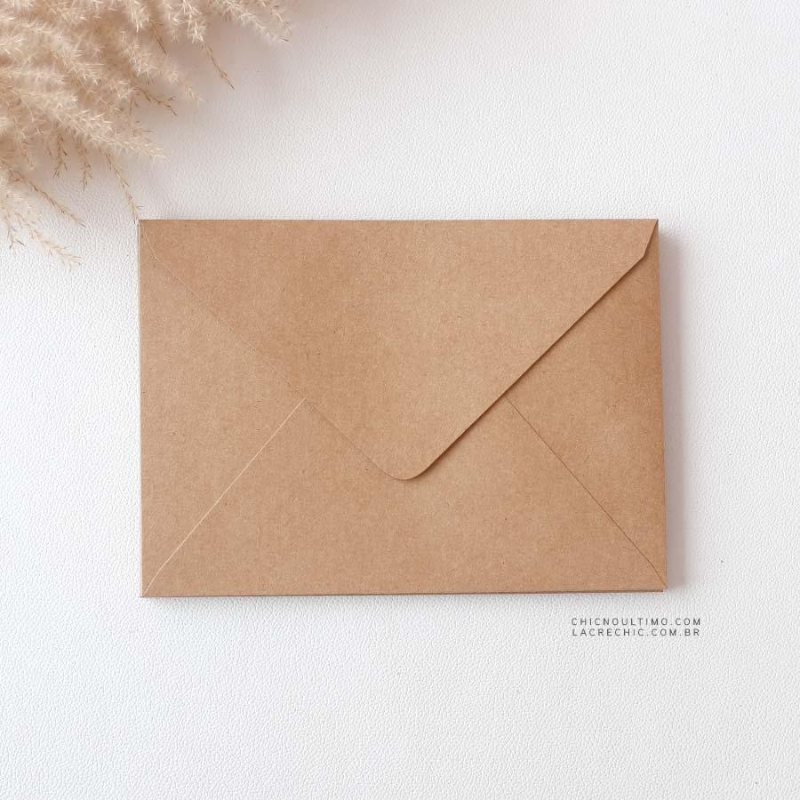 Envelope Kraft 250g - Carta M 22x15,5cm
