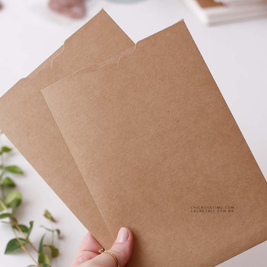 Envelope Kraft 250g - Luva P 14,5X21cm