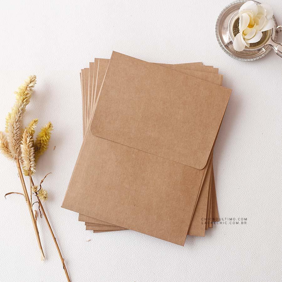Envelope Kraft 250g - Vertical M 16,5x21,5cm