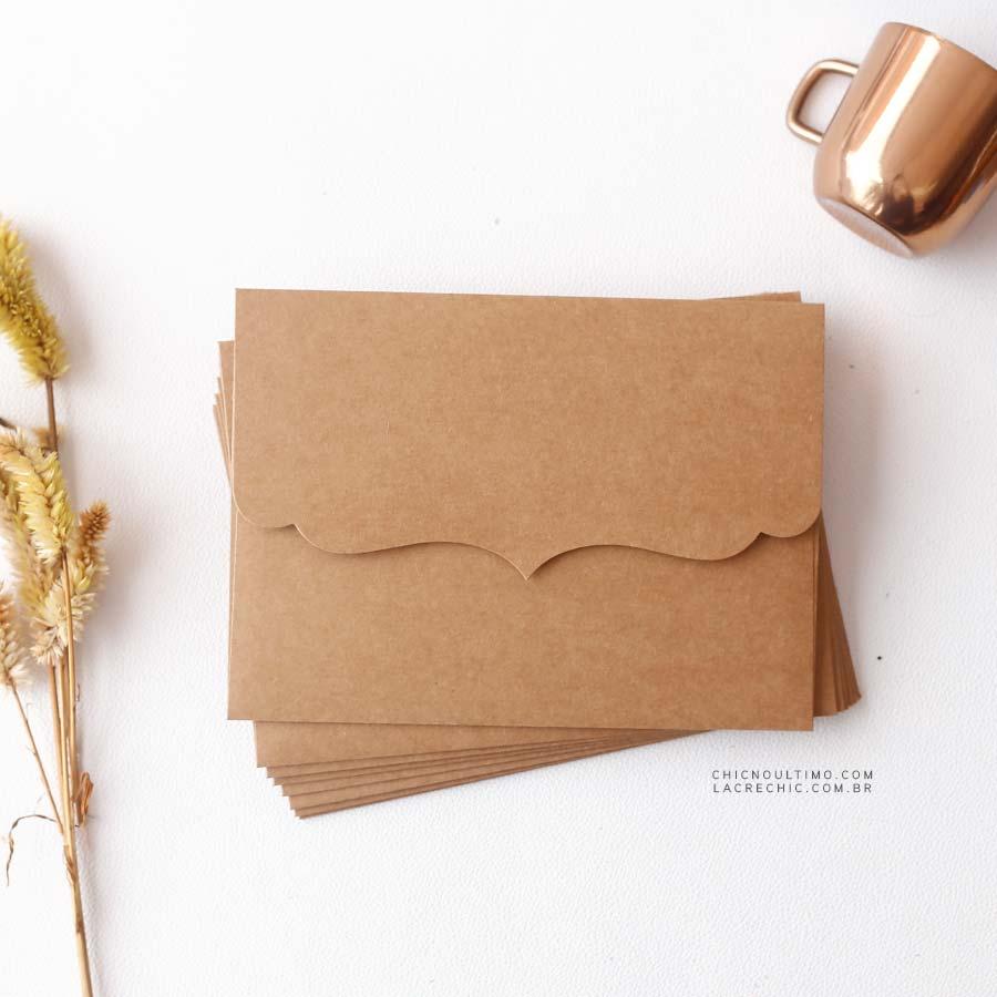 Envelope Kraft 250g - Vintage P 20x14,5cm