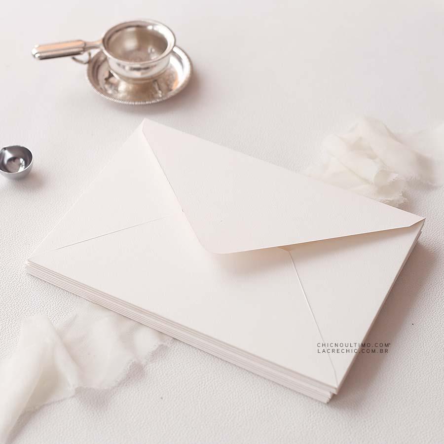 Envelope Offwhite 250g - Carta M 22x15,5cm