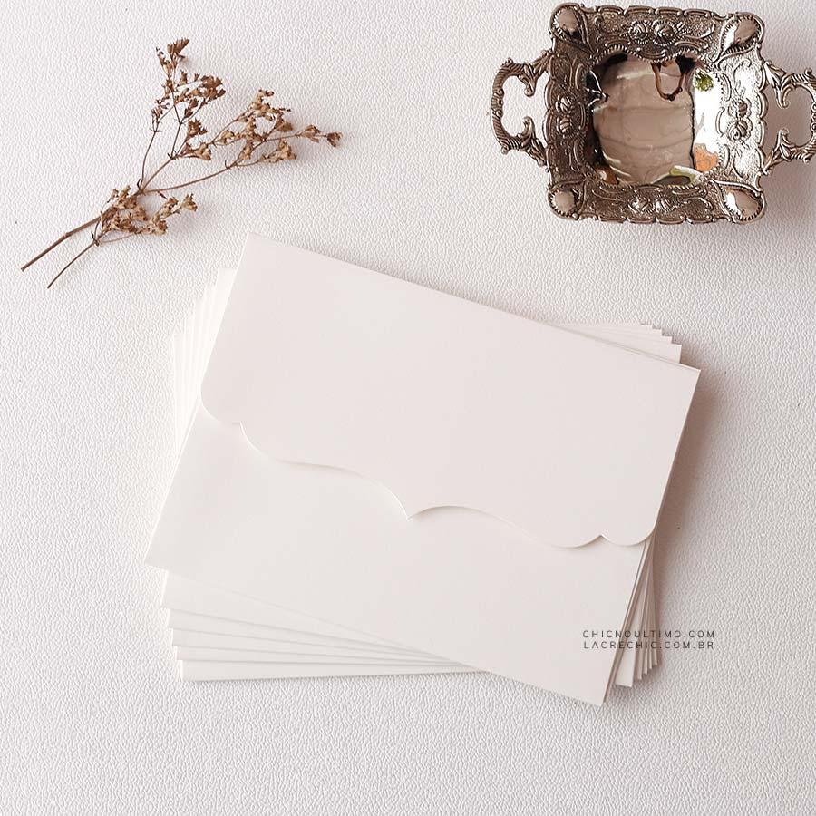 Envelope Offwhite 250g - Vintage P 20x14,5cm