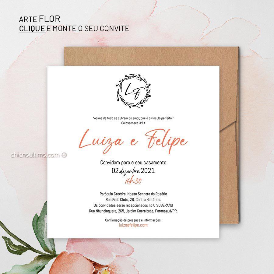 Flor - Convite Base