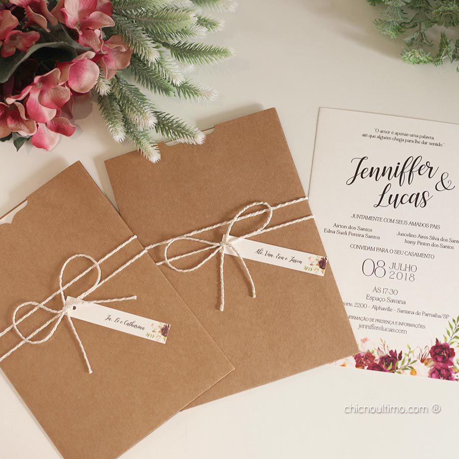 Floratta - Convite Completo