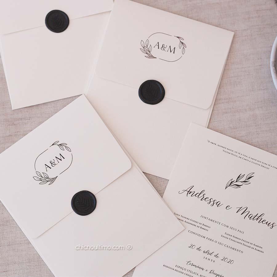 Linho - Convite Pronto