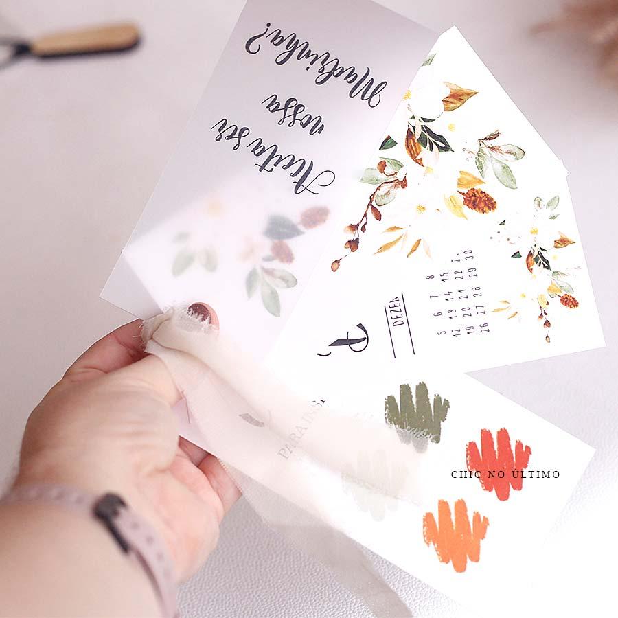 Manual Pocket para padrinhos - Terracota