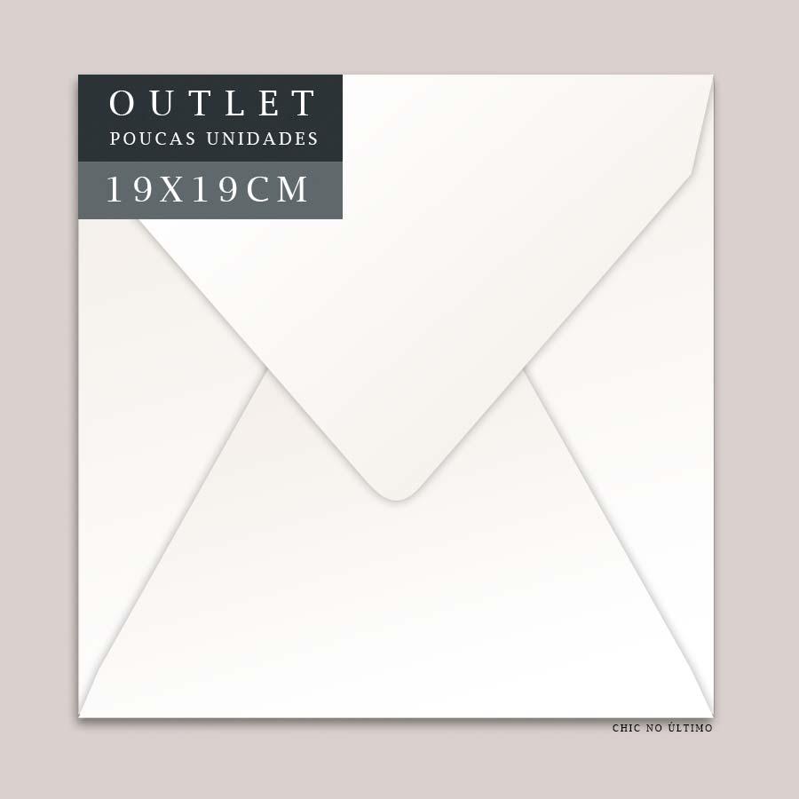 OUTLET Envelope G 19x19cm | Offwhite | pac 10 un