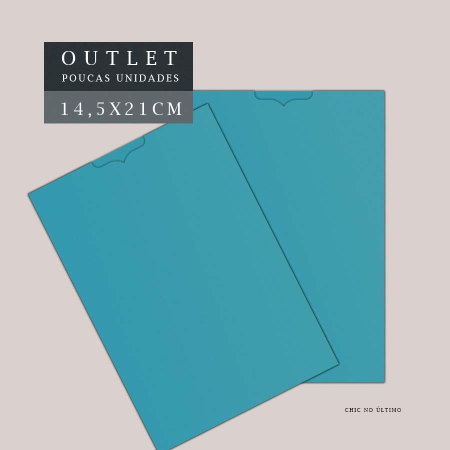 OUTLET Envelope Luva 14,5x21cm | Azul Céu | pac 10 un