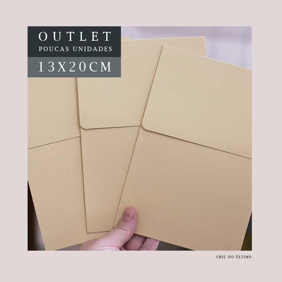 OUTLET Envelope Vertical P 13x20cm | Bege | pac 10 un
