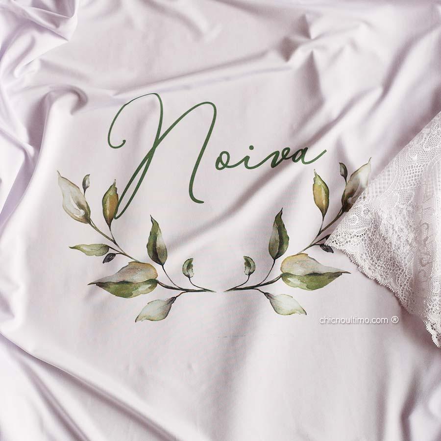 OUTLET - Robe noiva - Petit - branco com renda